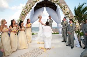 water front wedding
