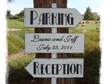 wedding parking