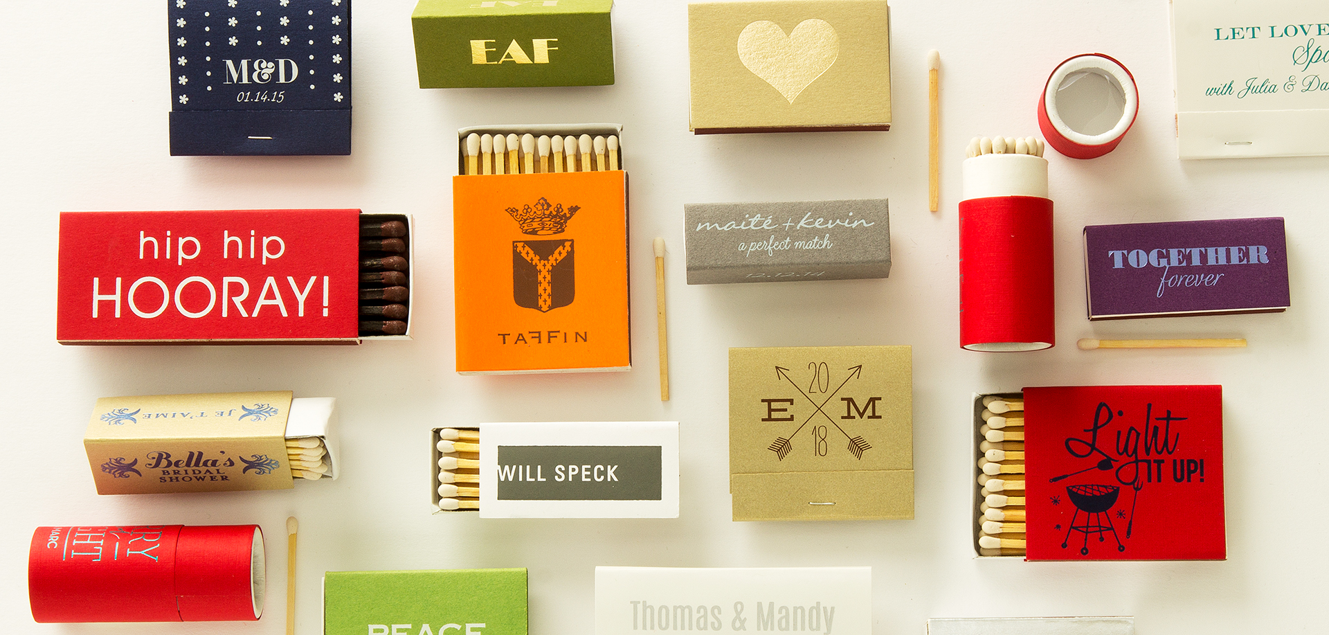 custom match boxes