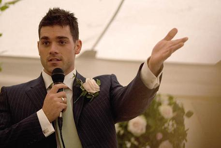 Check out examples of great best man speeches.